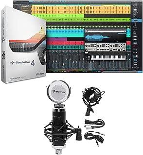 Presonus Studio One 4 Pro Upgrade from Pro/Producer Version 1/2/3 to 4 + Mic