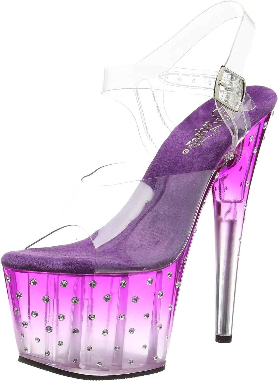 Pleaser Womens STDUS708T C PP-C Platform Dress Sandal