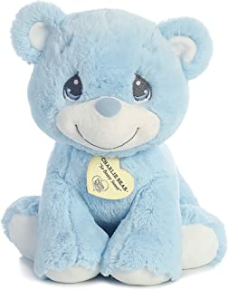 "Aurora World Precious Moments Charlie Bear, So Beary Sweet, Blue, 12"""