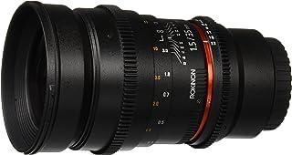 Rokinon 35mm T1.5 ED AS IF UMC Cine Wide Angle Lens for Olympus and Panasonic Micro 4/3 (MFT) Mount Digital Cameras (CV35M-MFT),Black