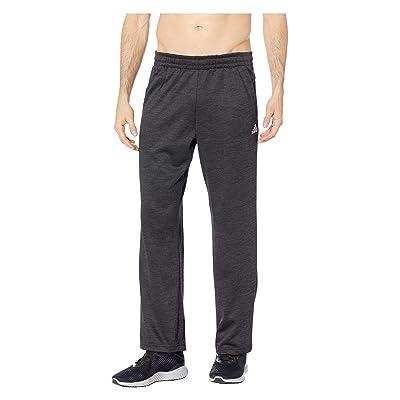adidas Team Issue Fleece Open Hem Pants (Dark Grey Melange) Men
