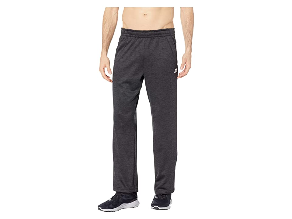 adidas Team Issue Fleece Open Hem Pants (Dark Grey Melange) Men