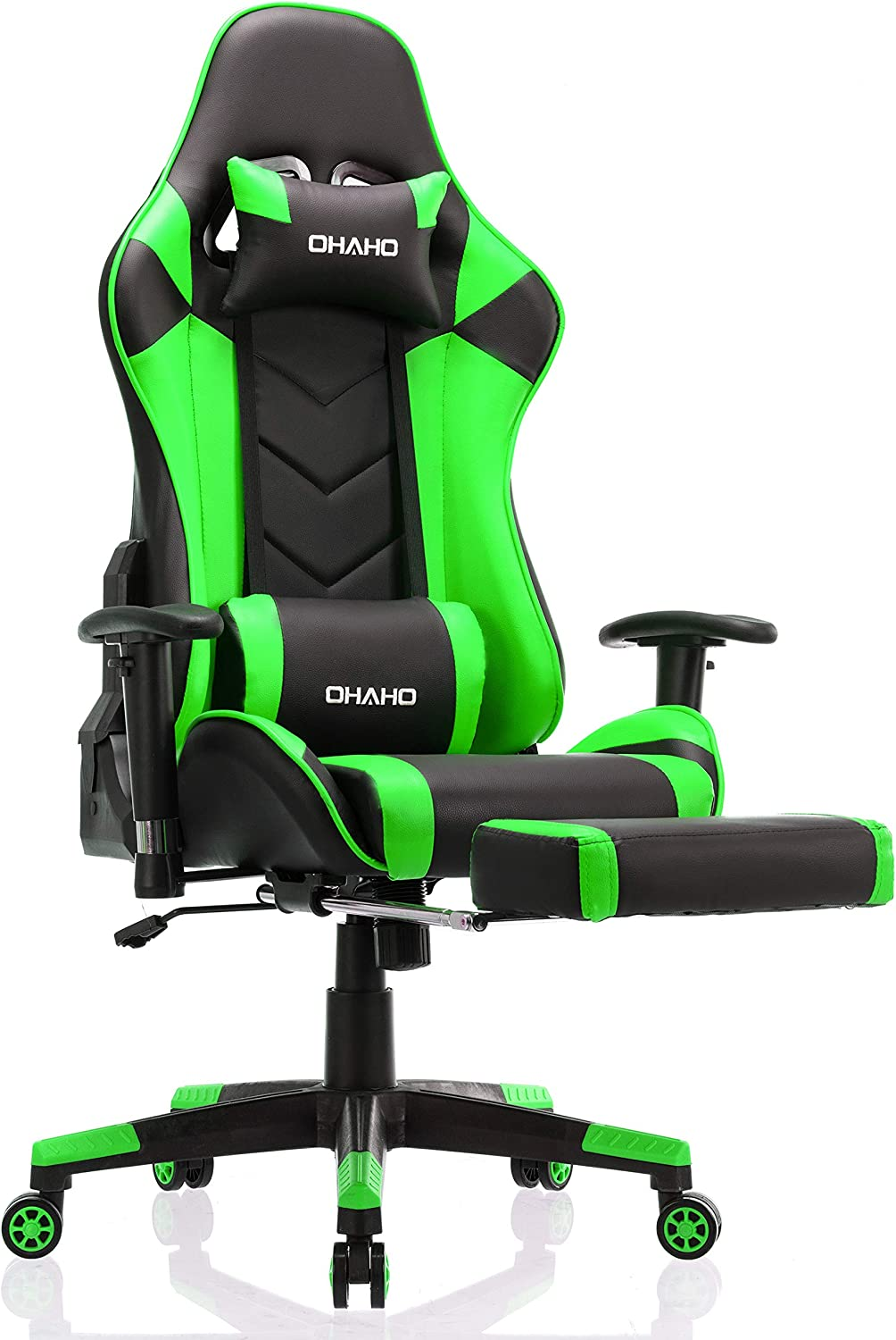 OHAHO In stock Gaming Chair Racing Massage Adjustable Style Max 48% OFF Office