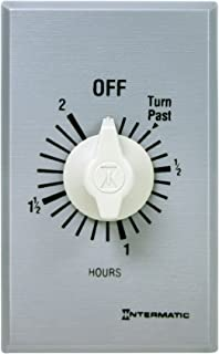 Intermatic FF2H Timer, Brushed Metal Finish