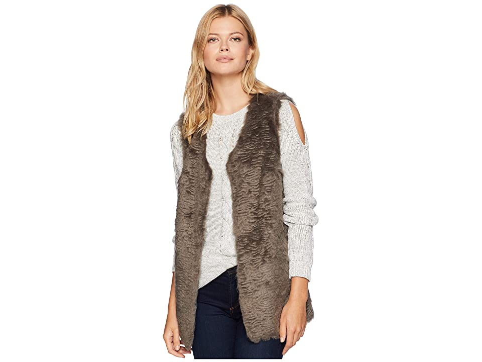 Tribal Fur Vest (Metal) Women