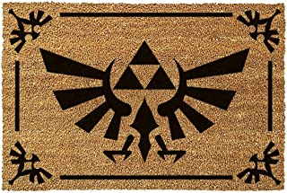 The Legend Of Zelda - Felpudo Triforce Black