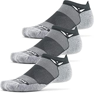Swiftwick- MAXUS ZERO Tab (3 Pairs) Running & Golf Socks, Maximum Cushion