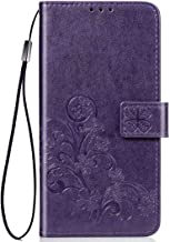 Wuzixi Case for Huawei Y3 2017/Y3 2018. Anti-Scratch, Flip Case Side suction Kickstand Feature Card Slots Case, PU Leather Folio Cover for Huawei Y3 2017/Y3 2018.Purple