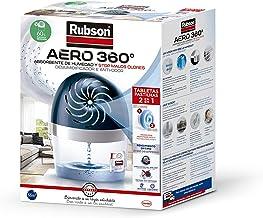 Rubson Aero luchtontvochtiger, 360 graden, met tablet, 450 g, donkerblauw/grijs