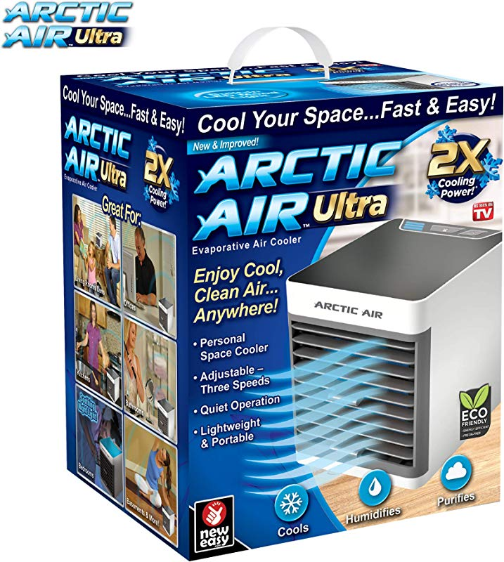 Ontel Arctic Ultra Seen On TV Evaporative Portable Air Conditioner Personal Space Cooler