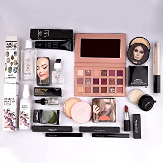 Nude Edition Eyeshadow, Essential Oil, Primer, Foundation, Compact Powder, Loose Powder, Concealer, Eyeliner, Mascara, Lip...