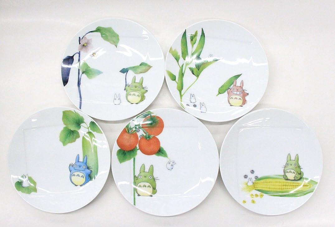 飲み込む一部従うノリタケ(Noritake) となりのトトロ 野菜シリーズ プレートセット ホワイト 直径:約15.5cm、高さ:約2cm VF9931A/1704-15 5枚入