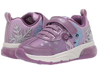 Geox Kids Frozen Spaceclub 7 (Toddler/Little Kid) (Pink/Mauve) Girl