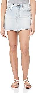 Rusty Women's Tomorrow Button Denim Skirt