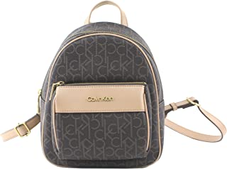 Calvin Klein Mercy Signature Monogram Key Item Backpack