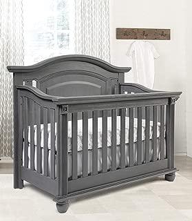 Oxford Baby (OXFU8) London Lane 4 in 1 Convertible Crib, Arctic Gray