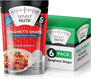 Skinny Pasta 9.52 oz - The Only Odor Free 100% Konjac Noodle (Shirataki Noodles) - Pasta Weight loss - Low Calorie Food - ...