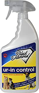 Black Diamond Stoneworks Ur-in Control Eliminates Urine Odors – Removes Cat, Dog, Pet, Odors Human Smells from Carpet, Furniture, Mattresses, Grout and Pet Bedding, Concrete. Biodegradable Enzymes.