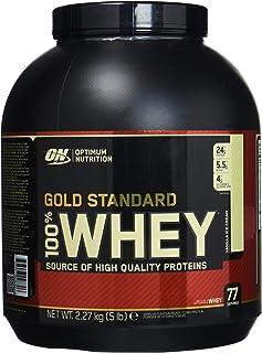 Optimum Nutrition Gold Standard 100% Whey Vanilla Ice Cream, 5 Lbs.