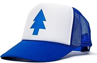 blue pine tree hat