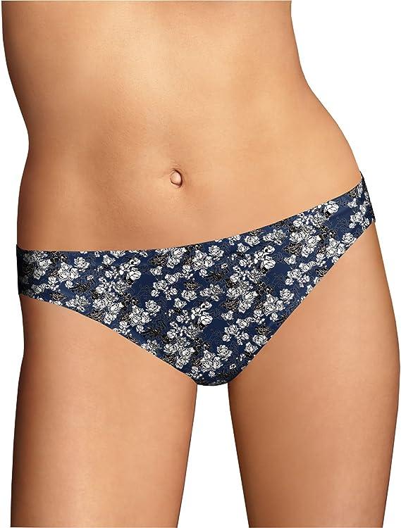 Maidenform ~ 3-Pair Women/'s Bikini Underwear Cotton Multi-Color D ~ M//6
