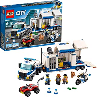 LEGO City Police Mobile Command Center Building Set, Multi-Colour