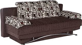ISTIKBAL Multifunctional FANTASY Collection (Futon Sofa/Queen Size Sleeper) ARISTO BURGUNDY
