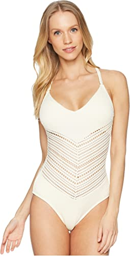 Perla V-Neck One-Piece