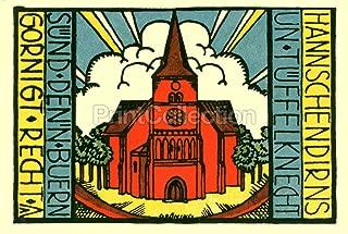 Print Collection Carlow 75 Pfennig 1921 Notgeld 8