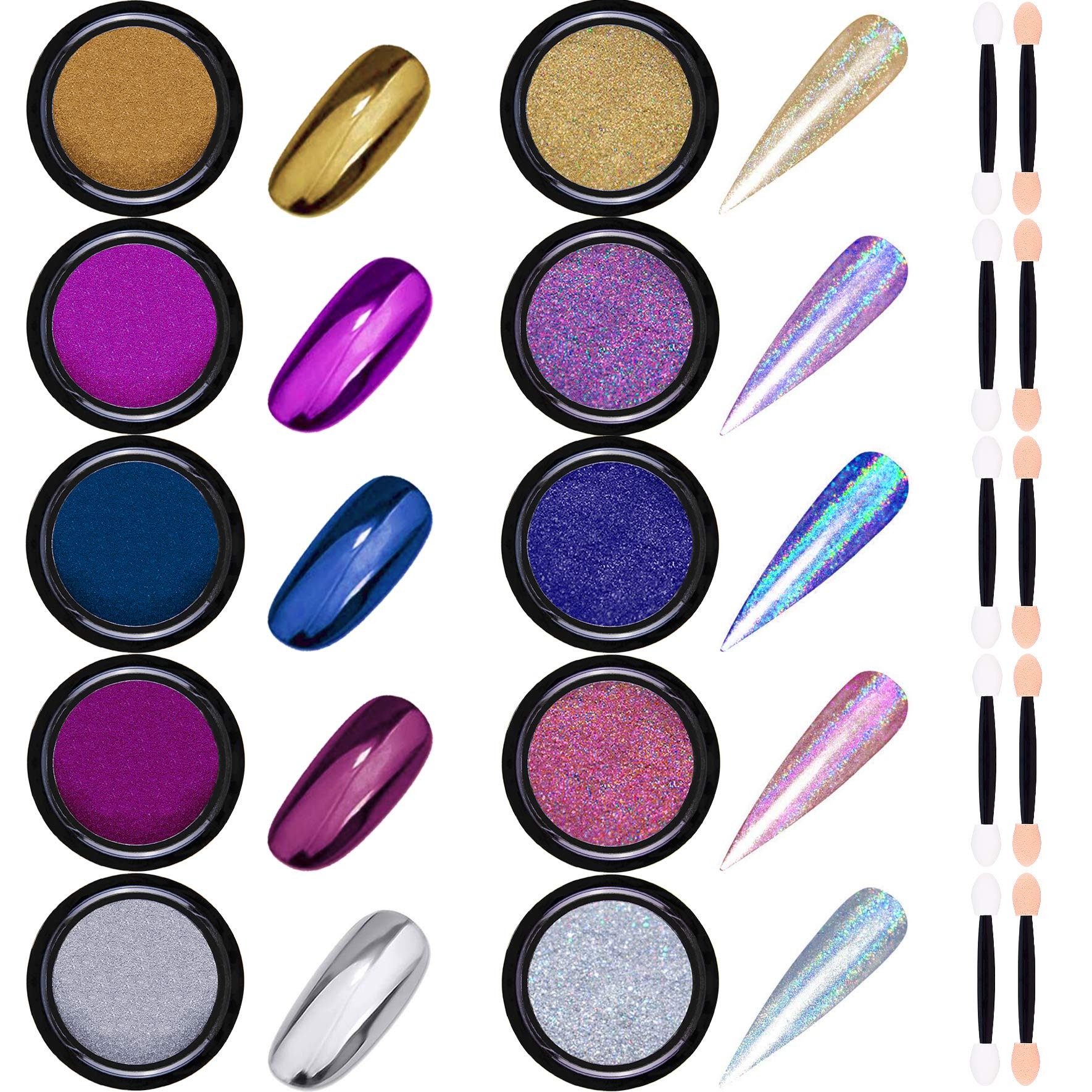 Duufin Holographic Manicure Pigment Eyeshadow