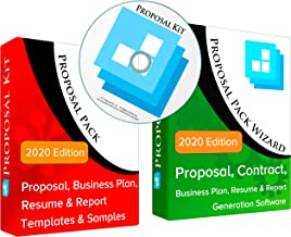 Proposal Pack for Any Business - Business Proposals, Plans, Templates, Samples and Software V18.2