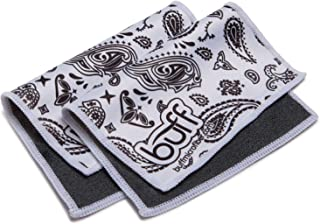 Buff Quick Cloth – 2 Pack with Case | Double Sided Ultrafine Microfiber Cloth | Designed for Eyeglasses, Phones, Tablets, Lenses | Paisley Print …