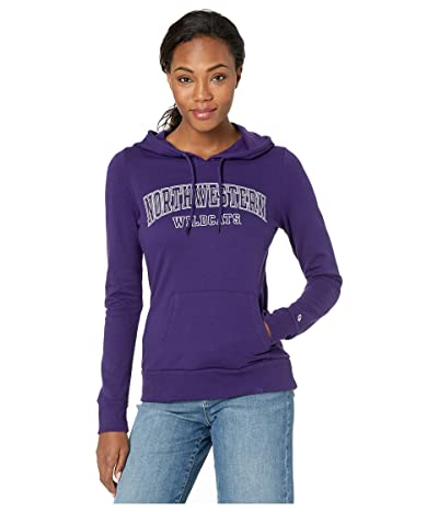 Champion College Northwestern Wildcats Eco(r) University Fleece Hoodie (Champion Purple) Women
