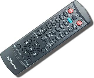 TeKswamp Video Projector Remote Control (Black) for Hitachi CP-WU5500