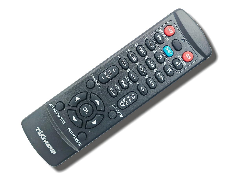 Dell 4320 TeKswamp Video Projector Remote Control (Black)
