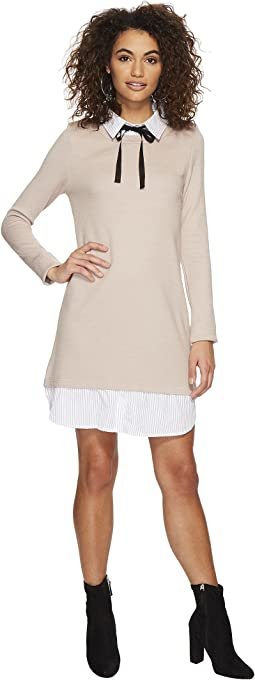 J.O.A. - Layered Look Knit Dress