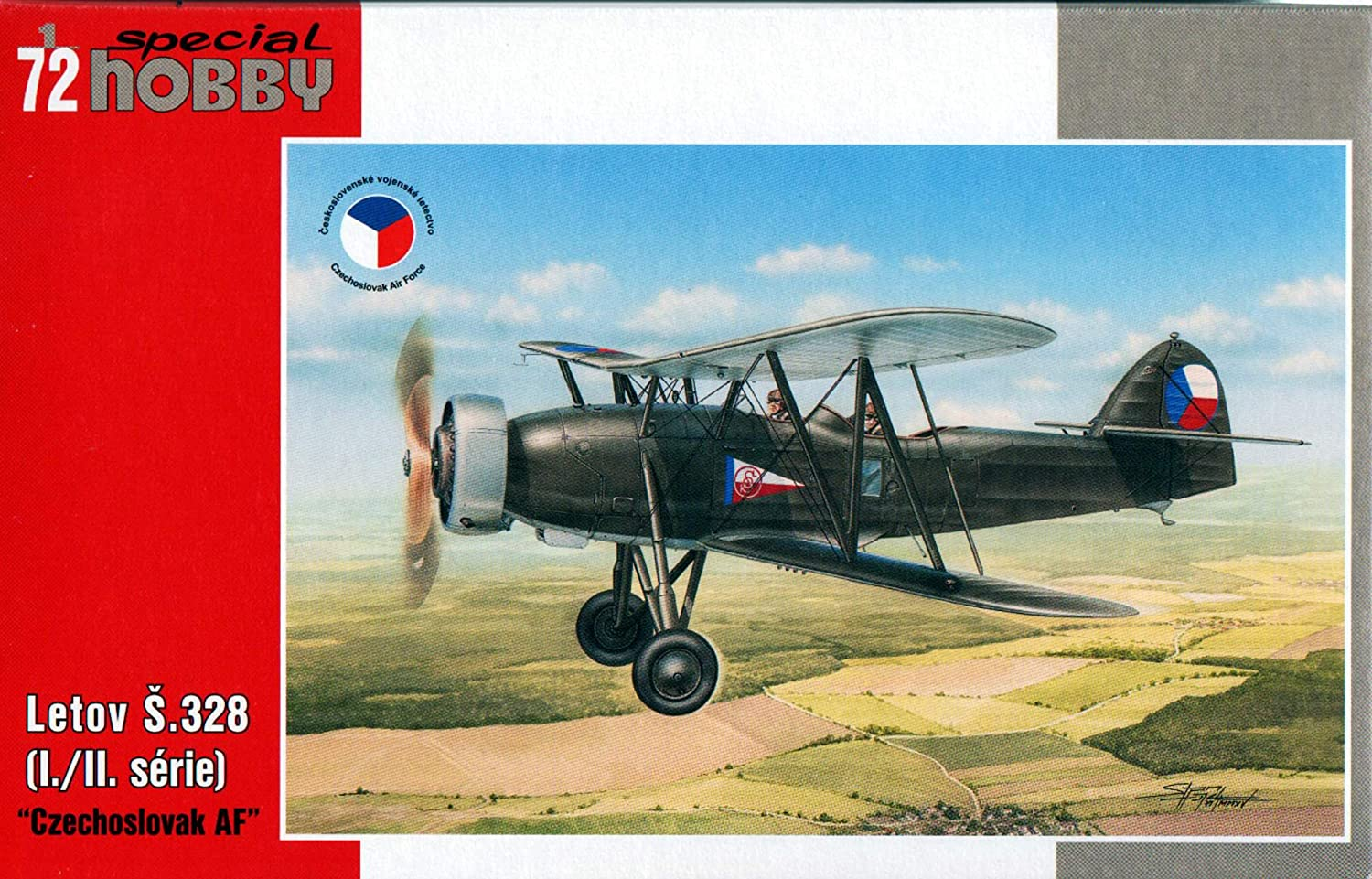 Special Hobby SH72145 ModelMaking Accessory Lotov S 328 Czechos Lovak AF Grey