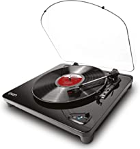 ION Audio Air LP   Vinyl Record Player / Bluetooth Turntable with USB Output for Conversion and Three Playback Speeds – Bl...