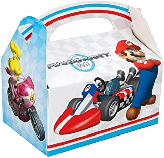 Super Mario Bros. Mario Kart Birthday Party Supplies 12 Pack Favor Box
