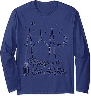 Eid Mubarak Eid al Fitr Ramadan I Islam Muslim Gift Long Sleeve T-Shirt