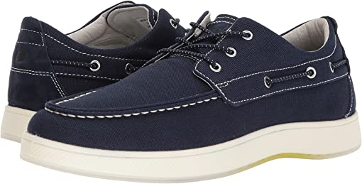 Navy Canvas/Navy Nubuck