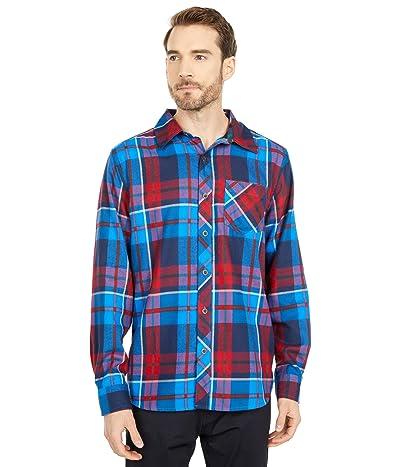 Marmot Anderson Lightweight Flannel (Clear Blue) Men