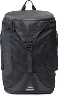 City Gym Backpack Black Edition Functional Laptop Sports Office Shopping Travel Urban Jungle Commuter Lightweight Reflective Extra Shoe and Wet Compartments for Women and Men 25L