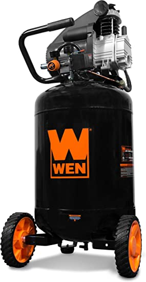 WEN 2202 20-Gallon Oil-Lubricated Portable Vertical Air Compressor: image
