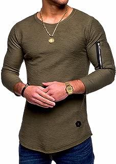 Behype Men's Sweater Jumper Hoodie Sweatshirt Pullover Longsleeve Tops MT-7310