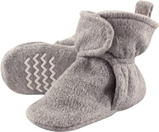 Unisex Baby Cozy Fleece Booties with Non Skid Bottom