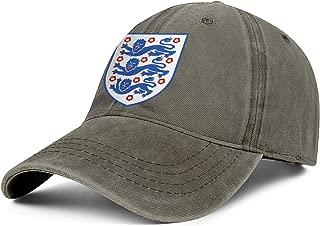 CCBING UK England Emblem Lion Royal Unisex Trucker Cap Comfort Denim Hat