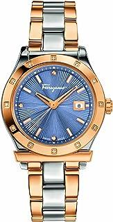 Salvatore Ferragamo Women's FF3260015 Ferragamo 1898 Analog Display Quartz Two Tone Watch