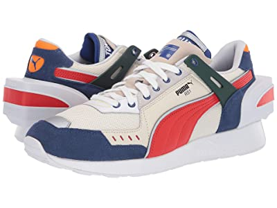 PUMA Rs-1 Ader Error Sneaker (Whisper White/Blueprint/Puma Red) Men