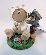 Last ONE!! Angel Cheeks Sheep Birds Spring Series 2011 Collectible Figurine Easter New